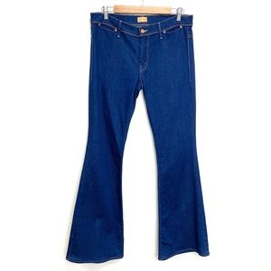 Mother | Curfew Flare Blue Skies Promises Jeans